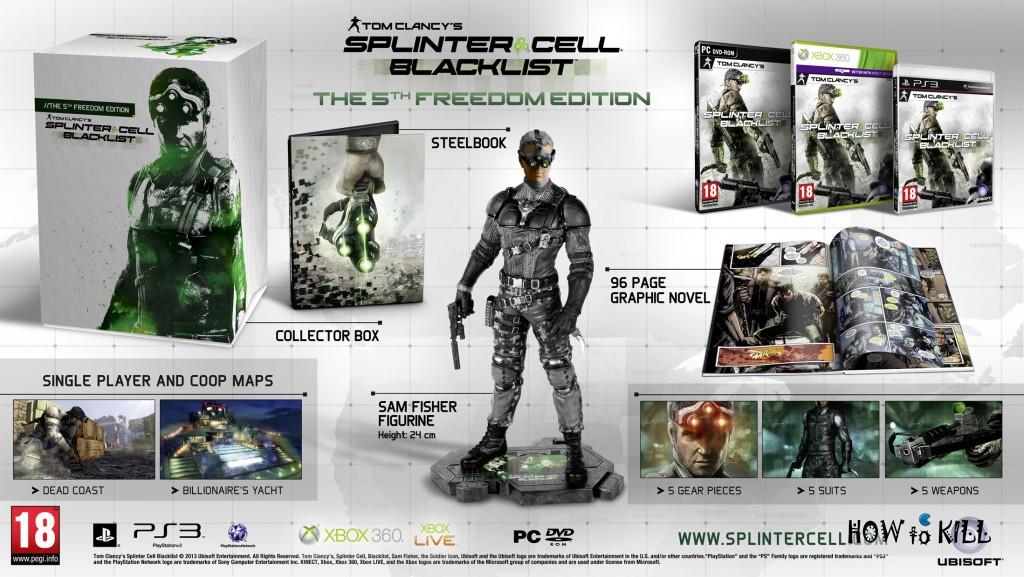 Splinter Cell Blacklist - The Fifth Freedom Edition