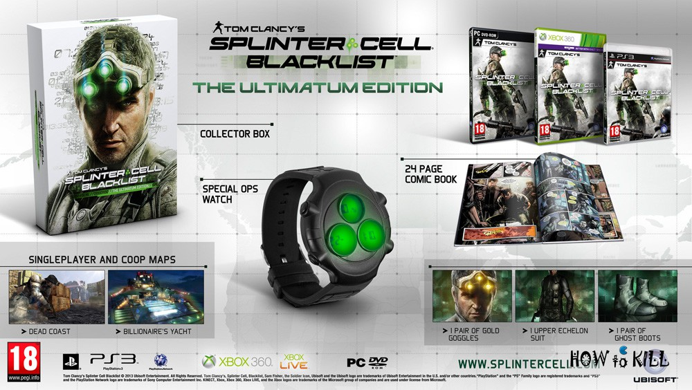 Splinter Cell Blacklist - Ultimatum Edition