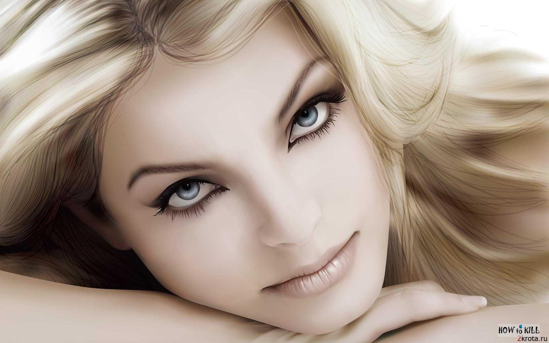 Фото красивых глаз женщин - 4