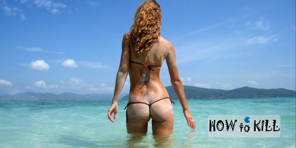 Фото девушек блондинок со спины