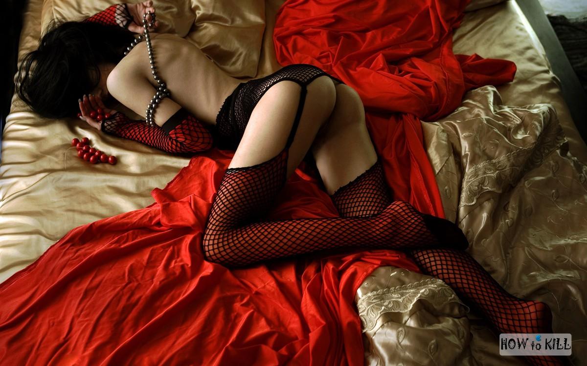 Фото связанных девушек на коленях 13 фотография