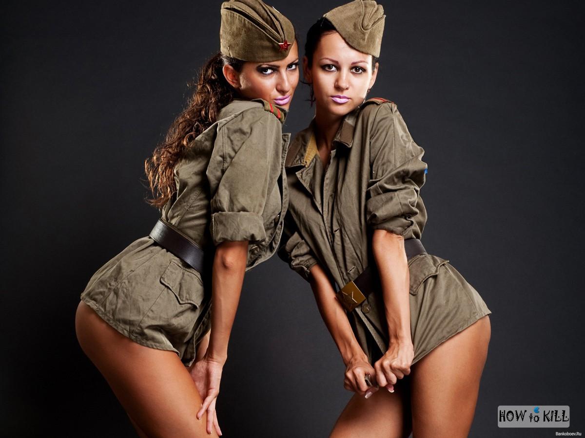 Секс мама в форми воёной 2 фотография
