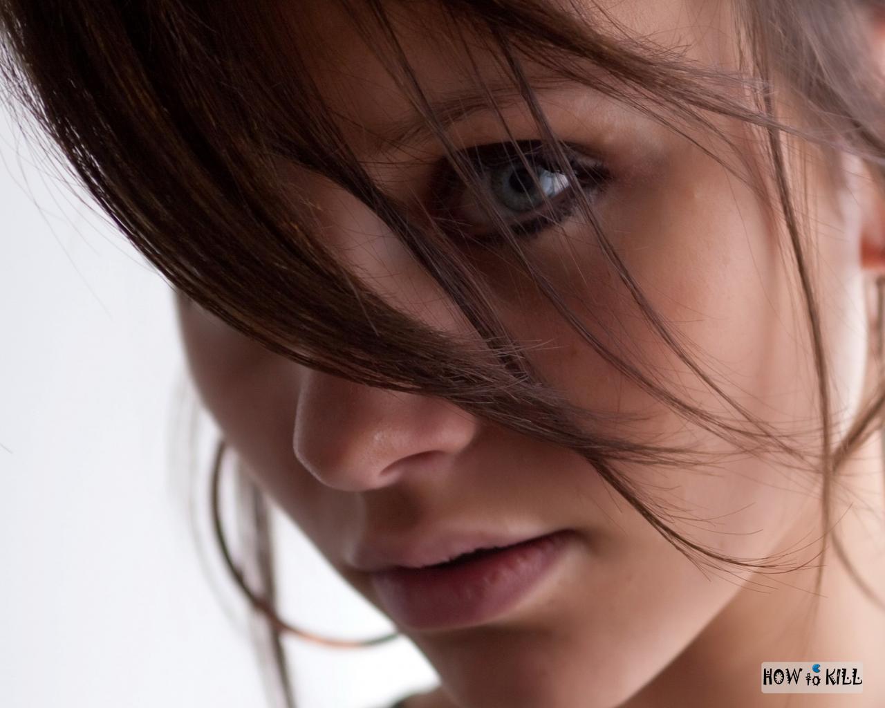 Фото красивая женщина брюнетка 14 фотография