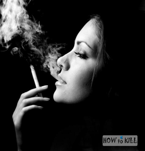 Как сделать красивую фотографию с сигаретой