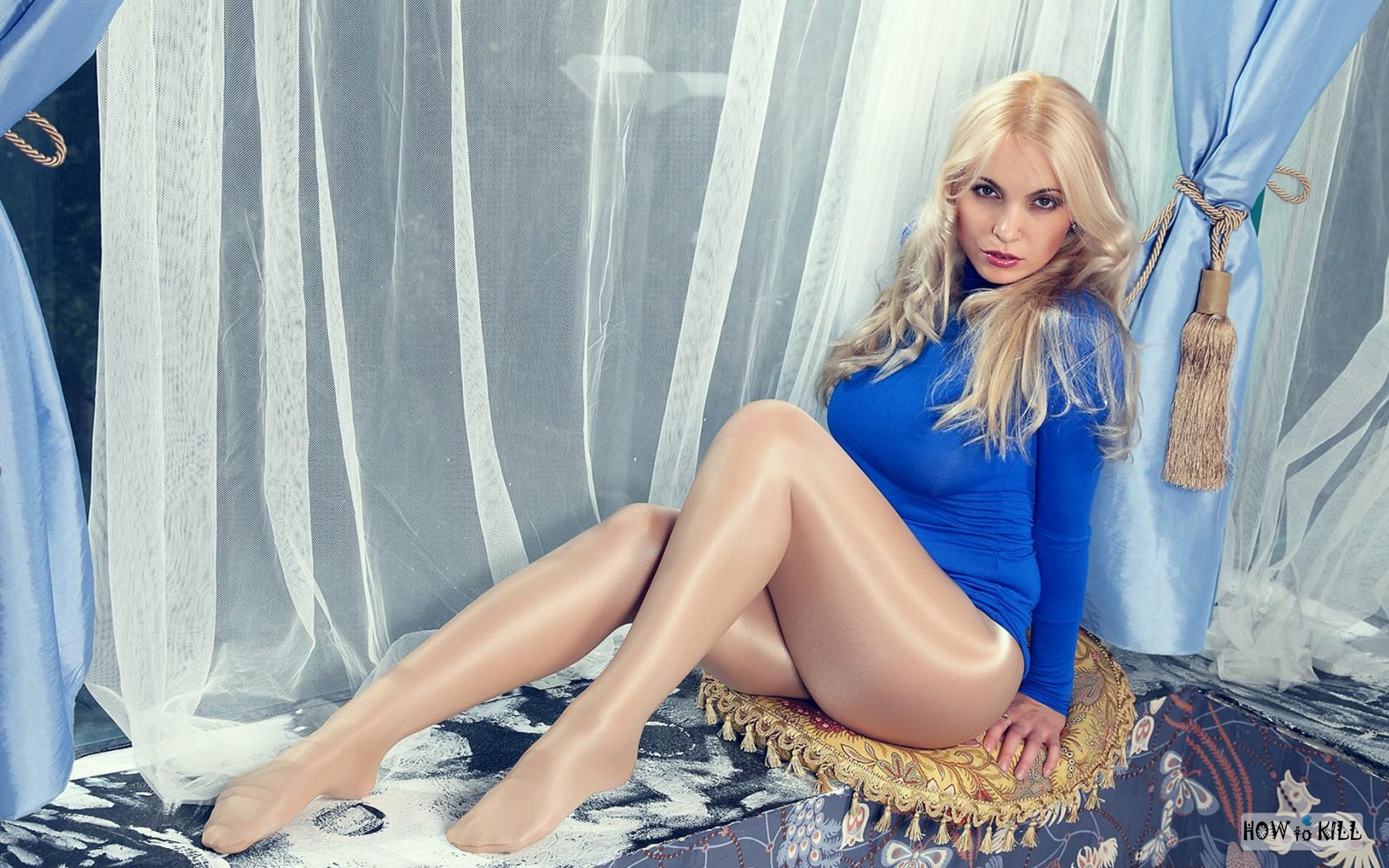 Русская женщина в колготках 26 фотография