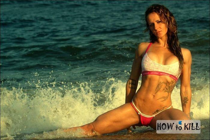 Качественное фото девушка на пляже