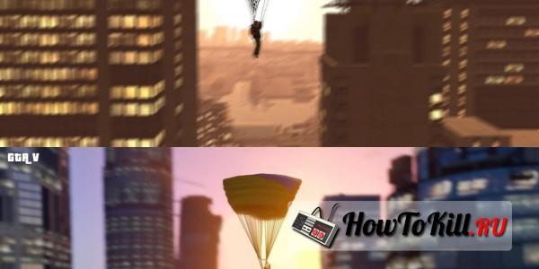 GTA 5 сравнение графики