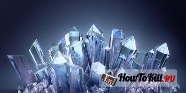 как получить кристаллы